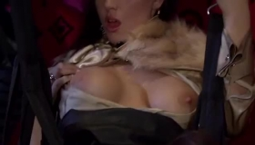 Horny Lesbian Women With Sticky Wet Pussies Sucking On A Single Dick