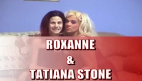 Roxanne Kiss And Lucyxx Ames Are Sucking Cock And Getting Cumshots, In Front Of The Camera
