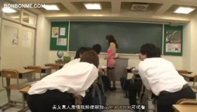 Horny Teacher Gets Fucked By 3 Of Her Boys