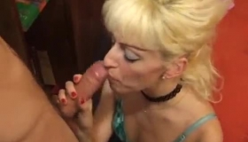 Nasty French Blonde Is Getting Her Tight Ass Hole Filled Up With A Big, Black Cock