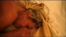 Young, Amateur Granny Invited Two Guys From Work To Her Place And Asked Them To Fuck Her