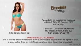 Blonde Glam Pornstar Showing Her Assets