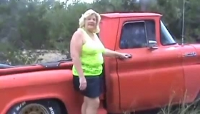 Black Man Likes The Way Ginger Lynn Is Sucking His Hard Dick In The Car, While Enjoying Nicely