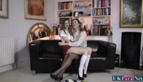 Romantic Maid Lara Brixx Is Getting A Firm, Chocolate Cock Up Her Tight Ass Before Getting Fucked