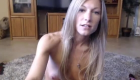 Teen Cutie Showing Hairy Pussy
