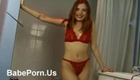 Redhead Masturbation Pussy Orgasm Fuck