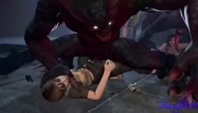Resident Evil Ana Mendez Gets Her Asshole