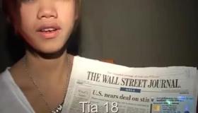 Tiny Titty Thai Teen Blowjob
