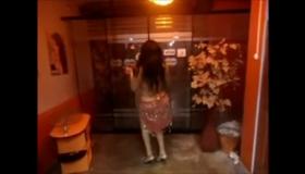 SAMANTHA MANZA Sucks Cock In The Elevator