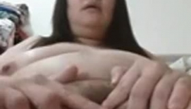Tiny Chinese Girl Nefertiti Sucks Huge Black Dick And Lets The Cocks Hit Her From Both Sides Making Her Lick His Balls And Cum