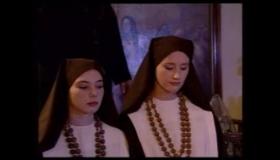 The Nuns Do Orgy Through The Glass Window