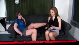 Iliana Femdom Pantyhose Kinky Massage Sex Session So Hot
