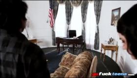 Oval Bush PAWG Taking Two AmericanDick