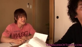 Adorable Japanese Teen Enjoys Pegging And Casting