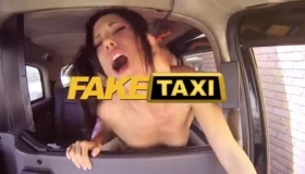 Fake Taxi French Minions Sara Jay And Britney Try Interracial Threesome Party In Around Nigeria