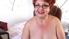Shorthaired Granny Likes To Suck Big Dick