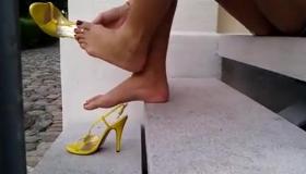 High Heel In Ass And In Heels