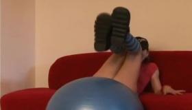 Amateur Teen Bouncing Big Boobs 18