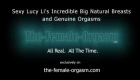 Natural Babe Cumming Orgasm From Creampie