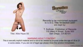 Allie Haze Butt Fucked Juicy Open Pussy Hard