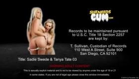 13in Pornstar Tanya Masturbates Pussy