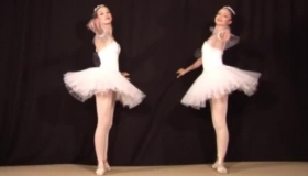 Ballerina Was Waiting For Her Black Client To Come And Give Her All She Has