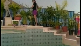Jo-a-lee Adams Is About To Have One Of Her Most Intense Orgasms, In The Swimming Pool