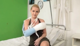 Busty Blonde Patient Fucked
