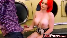 Redhead MILF Titty Slapped After She Sleeps Naked