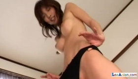Big Butt Asian Gets Ass Fingered