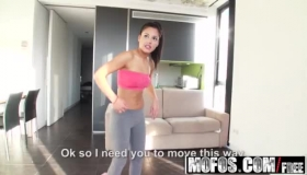 Busty Latina Try Hard To Fuck Hard Intense