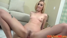 Three Stepsis Had Multiple Orgasms From Pussy Licking