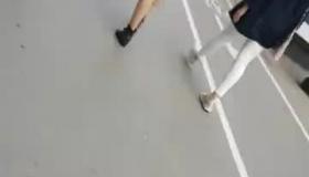 Nice Ass Teen In Pantyhose Dances