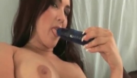 Brunette Big Tits Babe Bambi Brooks Fuck Amateur Mall Cop In The Ass