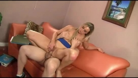 Busty, Mature Blonde Is So Naughty That Her Lover Could Not Hold Back From Fucking Her