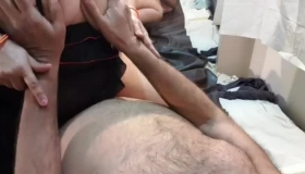 Two Horny MILF Lesbos Licking Pussies